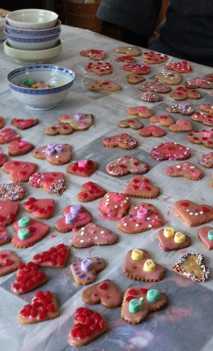 Valentine cookies website